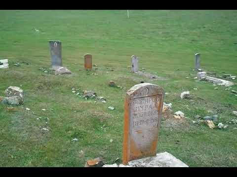 Азербайджанское кладбище в Армении,в целости и сохранности.