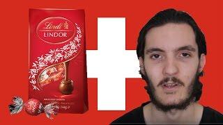 Trying Swiss Lindt Lindor Choocolate