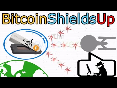Shields Up For Bitcoin - Ledger Nano S Review - Bitcoin Hardware Wallet (The Cryptoverse #171)