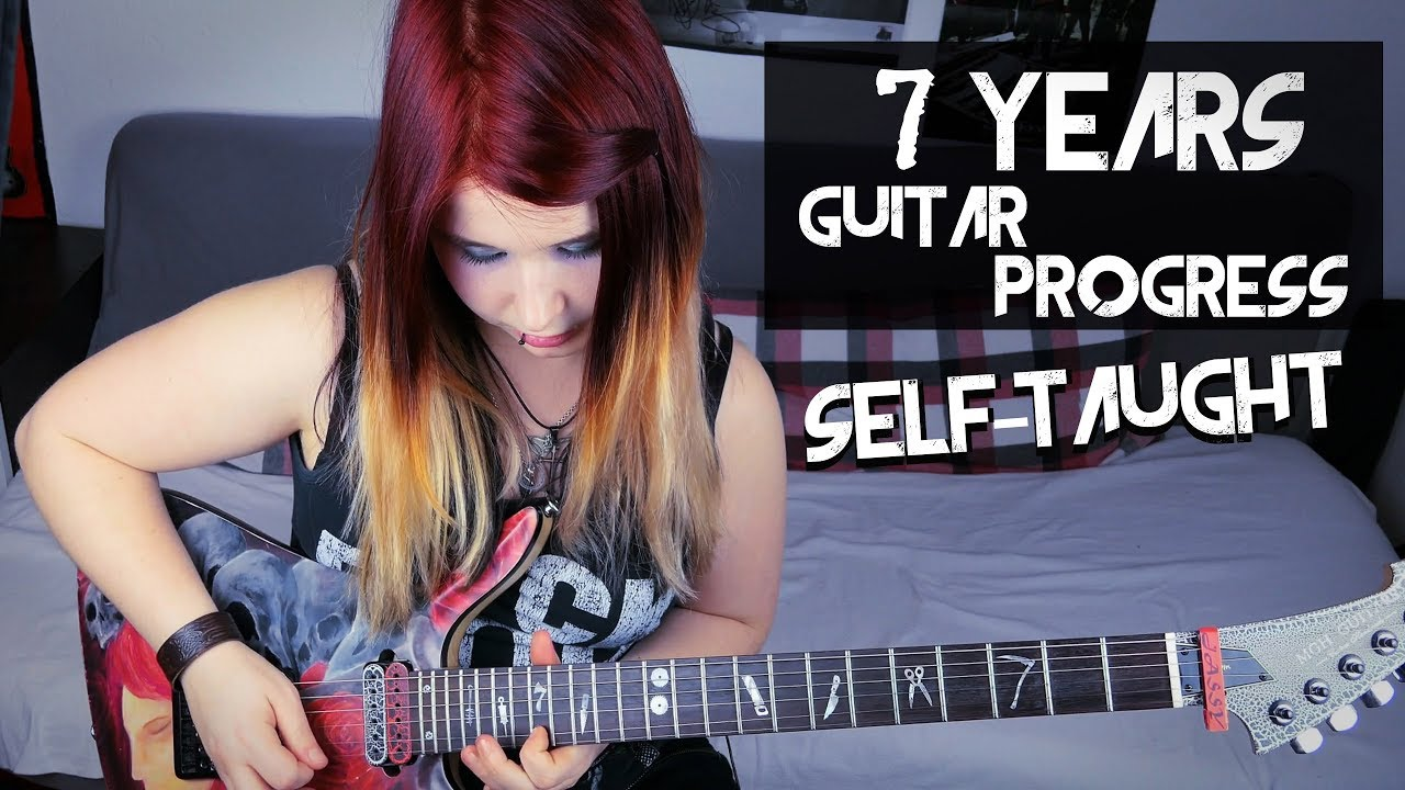 7 years guitar playing progress self taught 100k subscriber special jassy j youtube. Black Bedroom Furniture Sets. Home Design Ideas