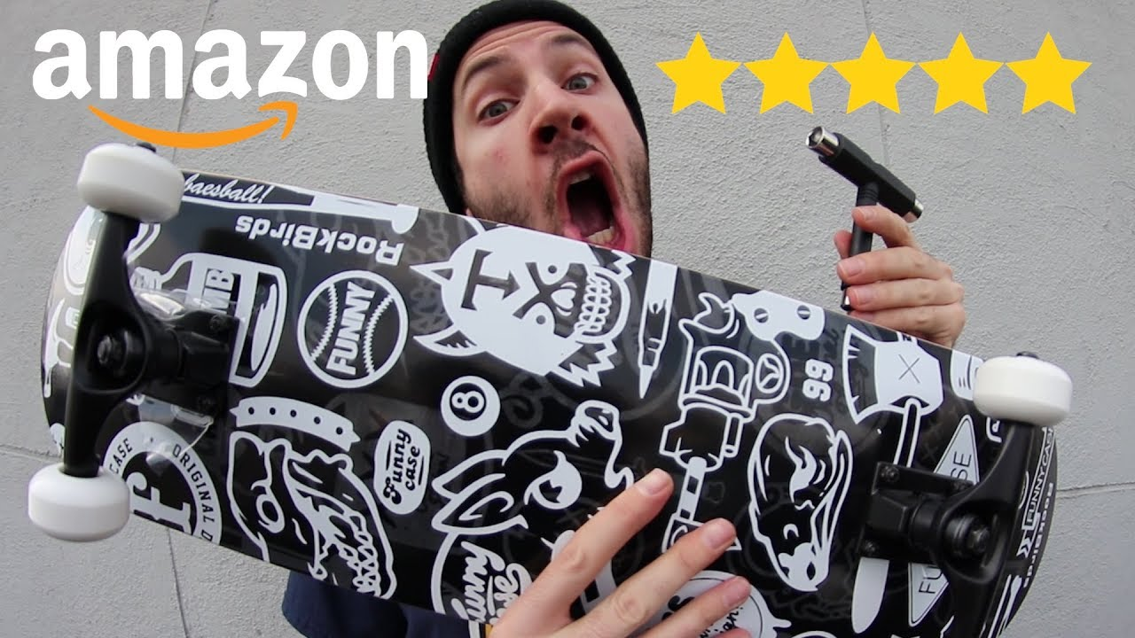 THE BEST REVIEWED SKATEBOARD ON AMAZON!