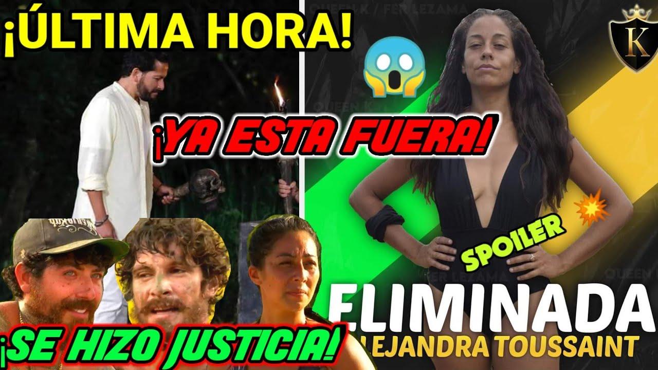 ÚLTIMA HORA 😱 ALEJANDRA ELIMINADA DE SURVIVOR MÉXICO 😲 POR FIN SE HIZO JUSTICIA ¿CINTYA LA SACÓ? 🤔
