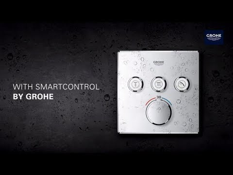 grohe smartcontrol puts you in control of your shower youtube. Black Bedroom Furniture Sets. Home Design Ideas