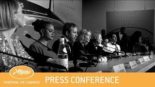 JURY - Cannes 2018 - Press Conference clôture - EV