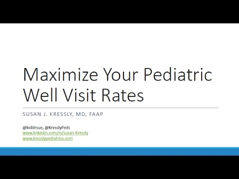 Maximize Your Pediatric Well Visit Rates