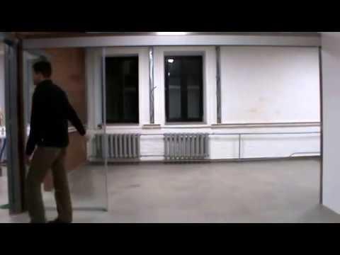 Сборка полотна раздвижной двери - YouTube