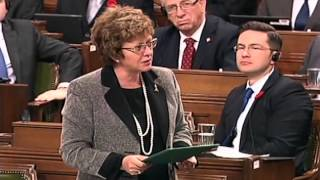 MP Diane Finley Honouring Statement - Question Period - October 28, 2014