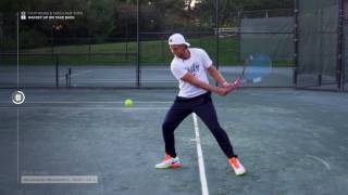 Olympian Denis Kudla Teaches The Backhand