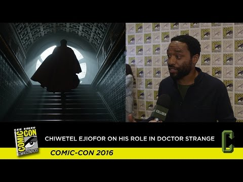 Chiwetel Ejiofor on What It Was Like Filming 'Doctor Strange'