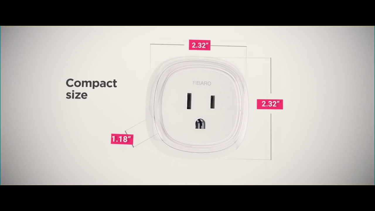 FIBARO Wall Plug US – A smart switch with power metering for ...