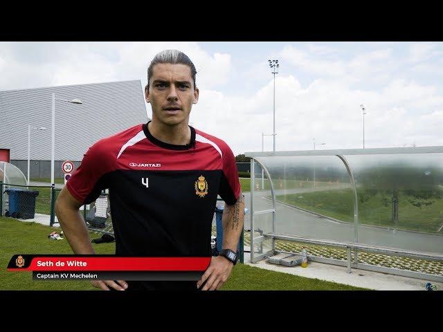 Knap'man compressiekleding bij KV Mechelen