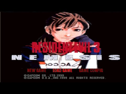 Resident Evil 3 - Elza Walker / Hardcore + Randomizer [ PS1 MOD ]