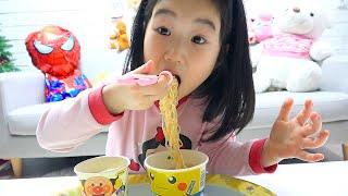 بولام مشاركة التدريس !!! Boram Learn to Share Food