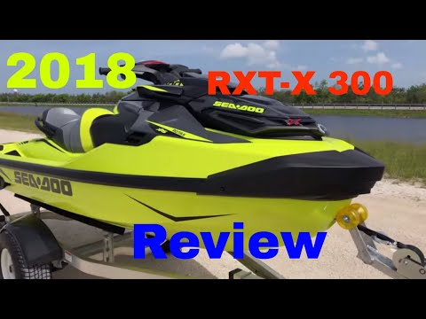 2018 New Sea-Doo RXT-X 300 Review