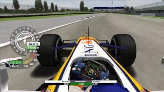 Grand Prix 4 - Giancarlo Fisichella - Indianapolis Motor Speedway - 2007 - Onboard lap