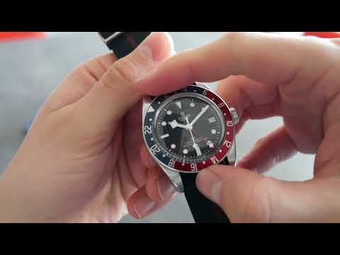 Up Close: The Tudor Black Bay GMT