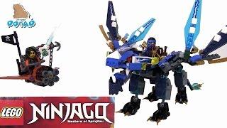 Lego Ninjago Masters of Spinjitsu 70602 Ниндзяго Мультфильм на Русском Jay's Dragon Лего Мультики