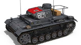 3D Model of PzBefWg III - Ausf.F - 7 PzDiv Review