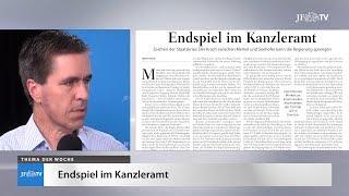 Ein Blick in die neue JF (26/18): Endspiel im Kanzleramt