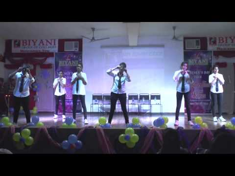patriotic dance performance by rnbgu student on �satyam