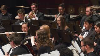 umich symphony band william bolcom song for band