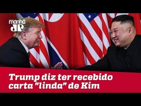 "Donald Trump diz ter recebido carta ""linda"" de ditador norte-coreano"