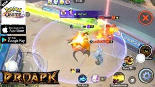 Pokémon UNITE Android Gameplay (BETA) screenshot 1