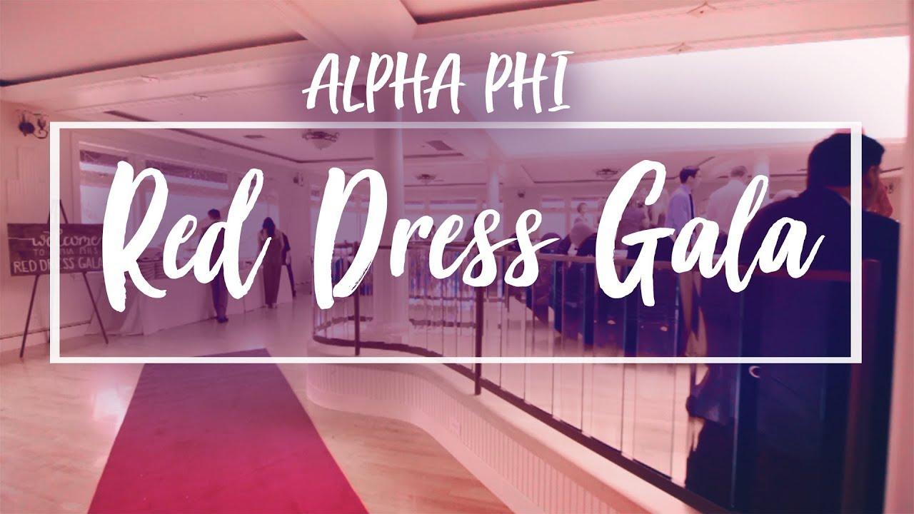 a66457b61a5 Alpha Phi Red Dress Gala 2018