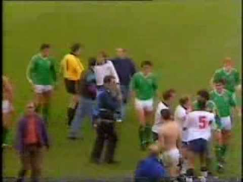 Republic of Ireland 1-1 England (1990) ECQ