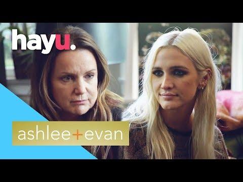 Ashlee Gets Parenting Advice From Her Mom | Ashlee + Evan