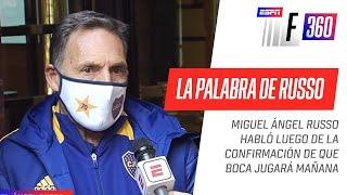 Así REACCIONÓ Miguel Ángel #Russo tras confirmarse el partido entre Boca y San Lorenzo