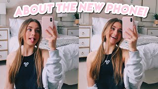 NEW PHONE: favorite apps, phone case shopping, how i edit my pictures & stories...