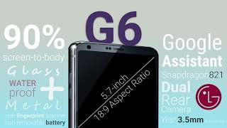 This is the LG G6 - Full Leak Reveals All Major Features