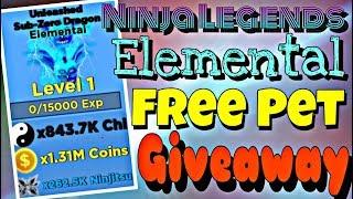 🎅DUEL ARENA!⚡ Ninja Legends! FREE ELEMENTAL PET GIVEAWAY! ROBLOX LIVE 🔴