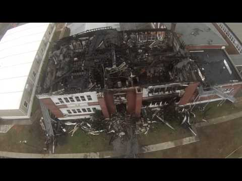 Colonial Beach Elementary School After The Fire