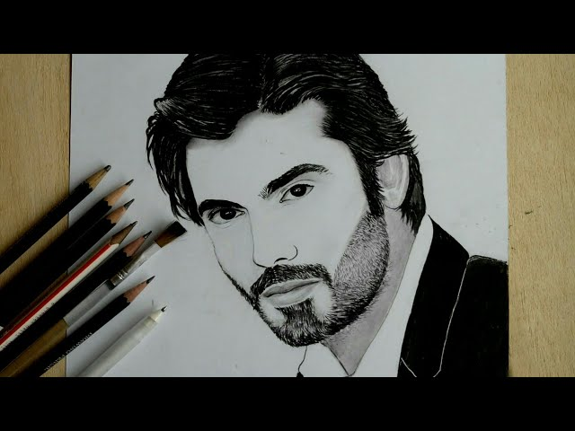 Fawad Khan Sketch