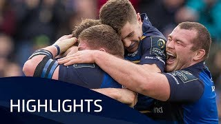 Leinster Rugby v Glasgow Warriors (P3) - Highlights – 14.01.2018