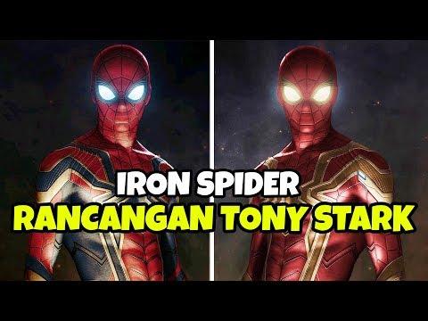 7 Hal Menarik Iron Spider Yang Di Rancang Tony Stark