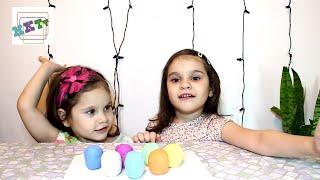 ❀Сюрпризы из Play Doh яиц,Барби и подарки в кукурузных палочках))❀