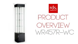 Wr457r-wc Rotating Retail Display Cabinet