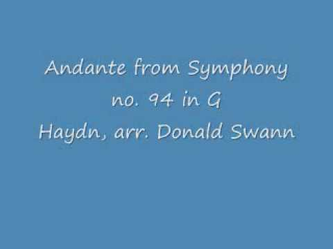 Surprise Symphony reconceived