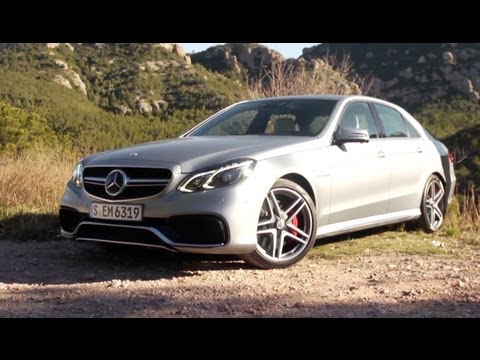 2014 Mercedes Benz E63 Amg 4matic Driven Car And Driver Youtube