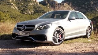 2014 Mercedes-Benz E63 AMG 4MATIC - Driven - CAR and DRIVER