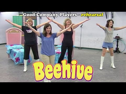 Beehive in rehearsal - Good Company Players