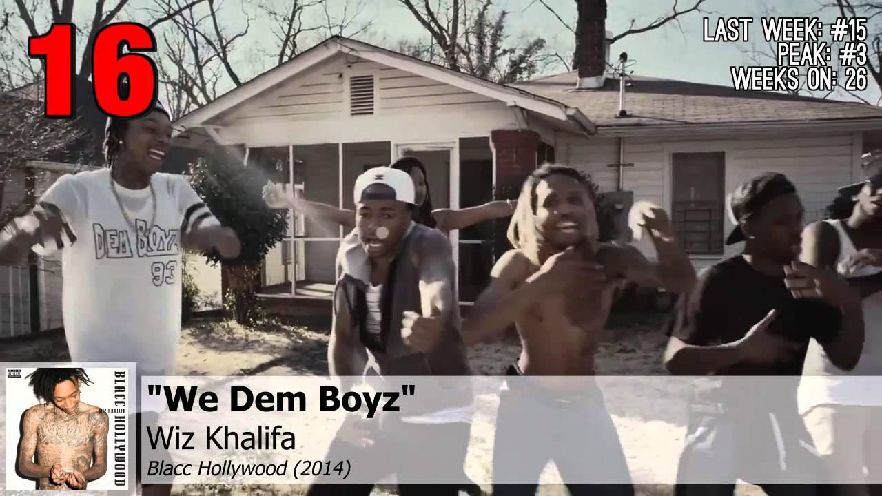 Top 25 - US iTunes Hip-Hop/Rap Charts | September 29, 2014