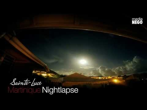 Timelapse - Nightlapse Sainte-Luce Martinique FWI - Media NEGO