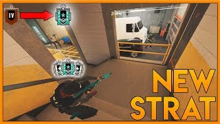 This New OP Strat IS INSANE! - Rainbow Six Siege Funny Moments