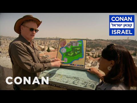 Conan Visits Jerusalem \u0026 Outlines Trump's Peace Plan  - CONAN On TBS