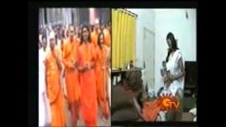 Swamy Nithyananda Scandal in Sun TV Nijam Program Part 1