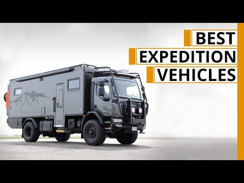 Top 10 New Expedition Vehicles For Extreme Explorations